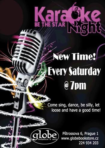 karaoke flyer 7pm