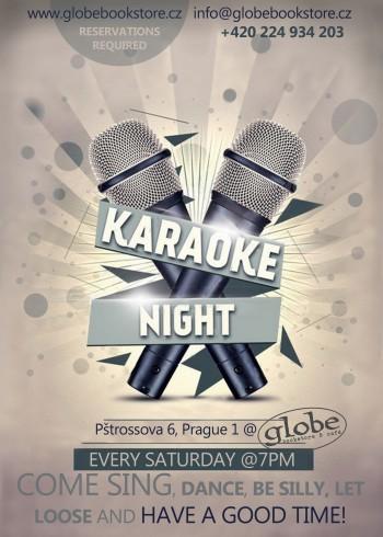 New karaoke flyer
