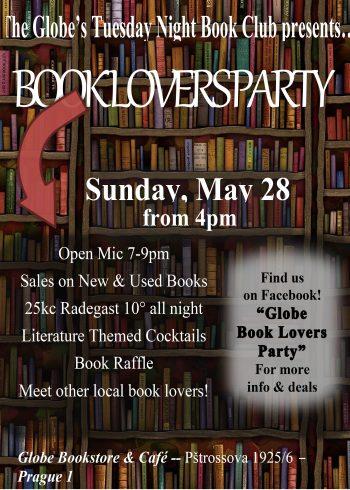 book lovers flyer