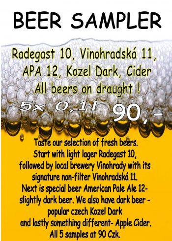 beer sampler 2017 flyer
