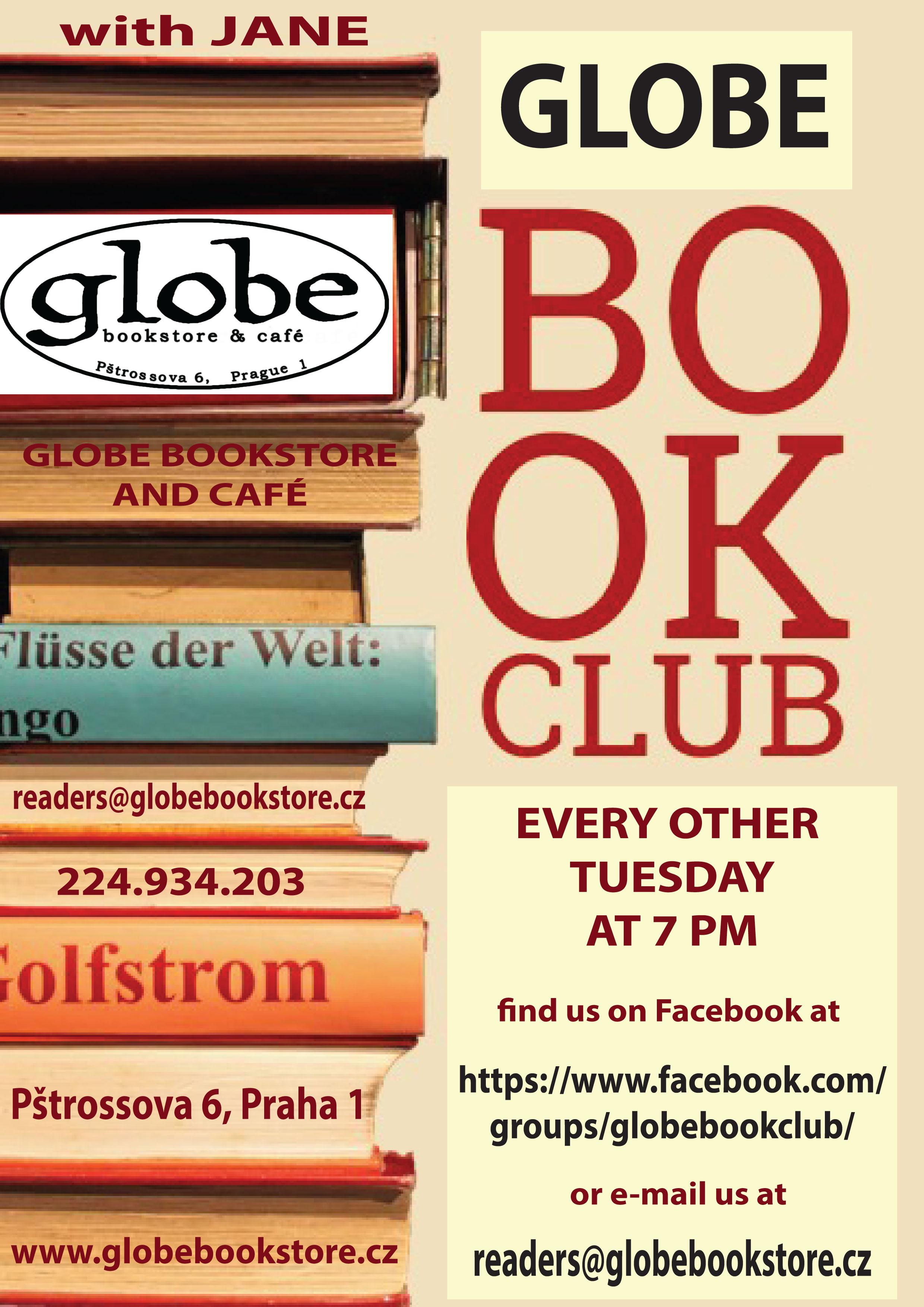 book club flyer gener