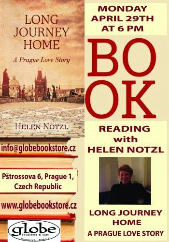 book reading helen notzl flyer