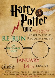 RE-RUN Harry Potter Quiz