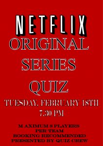 Netflix Original Series Quiz
