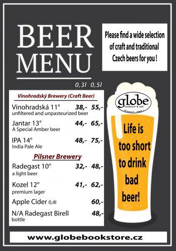 beer menu 2020