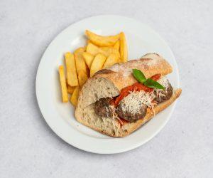 meatballs sendvič