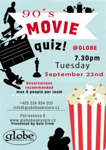 90's Movie Quiz Night
