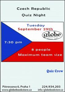 Czech Republic Quiz Night