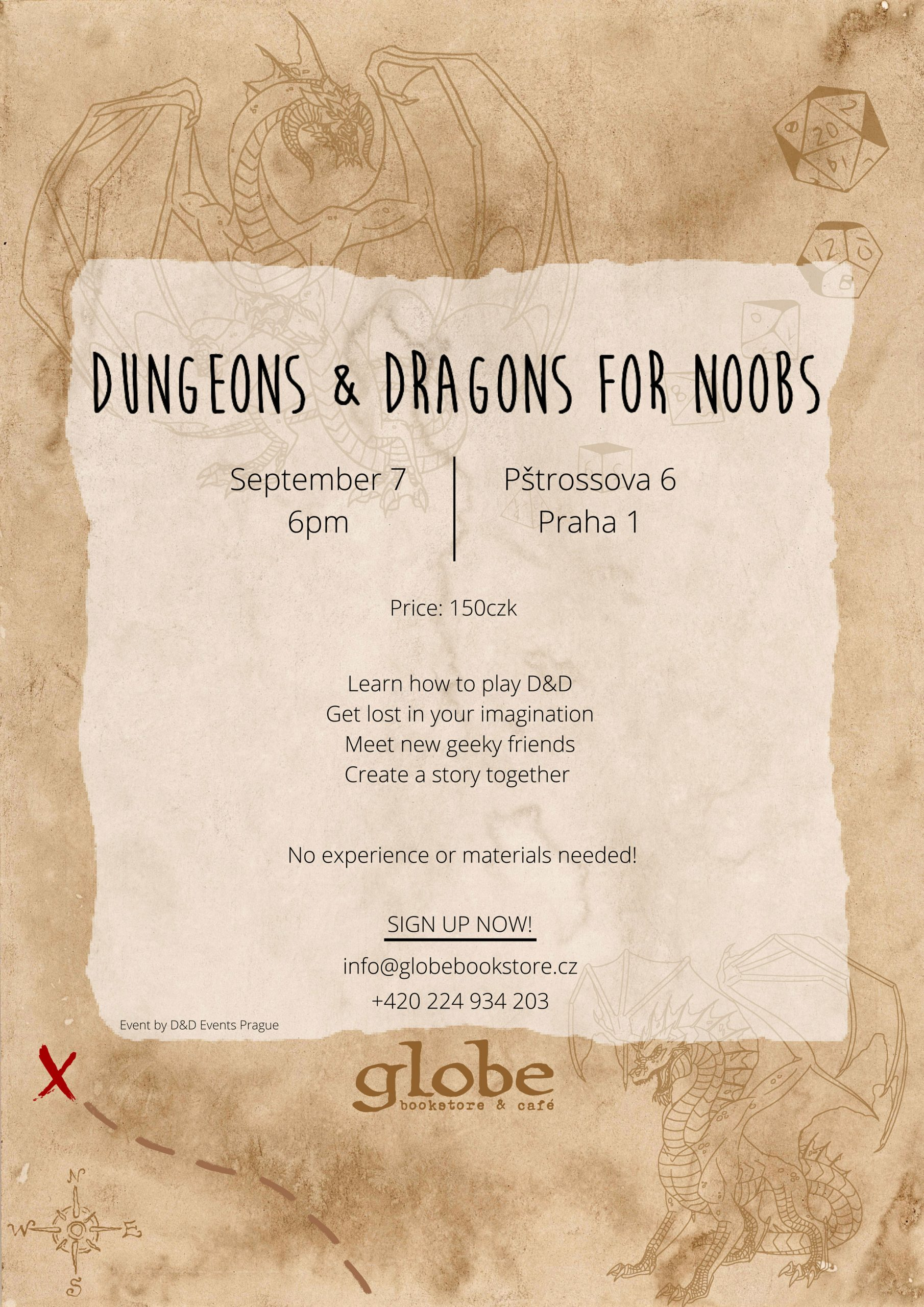DnD for noobs poster