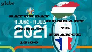 Euro 2021 Hungary vs France