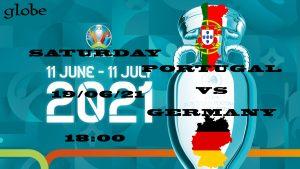 Euro 2021 Portugal vs Germany