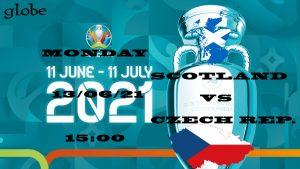 Euro 2021 Scotland vs Czech Republic