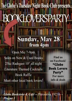 book lovers flyer