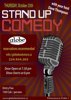 comedy night oct 25th