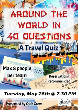 Travel Quiz Poster